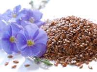 Flaxseeds are a good source of healthy fats