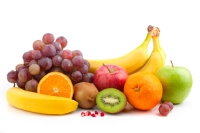 Fruits contain high levels of vitamins