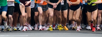 Wear extra padded training shoes if you are going to enter a marathon