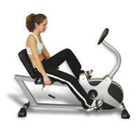 The recumbent exercise bike