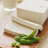 Tofu is a popular protein source for vegetarians