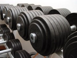 Lift heavy weights to build more strength