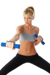 Light weights add extra resistance
