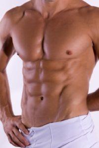 Lean muscular man