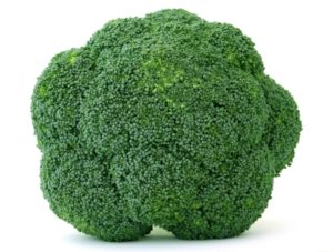 Broccoli is also a negative calorie food